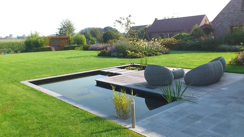 Création de jardin contemporain Ath Soignies Tournai Mouscron Lille