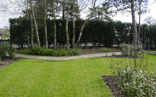 Jardins semi-publics