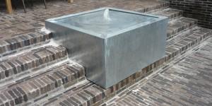 Terrasses en briques