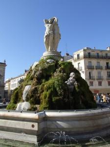 Montpellier_-_Fontaine_les_trois_Graces