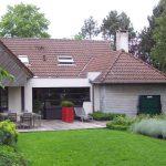 Jardin contemporain et fleuri en Pévèle réalisé par les Jardins du Pays Vert